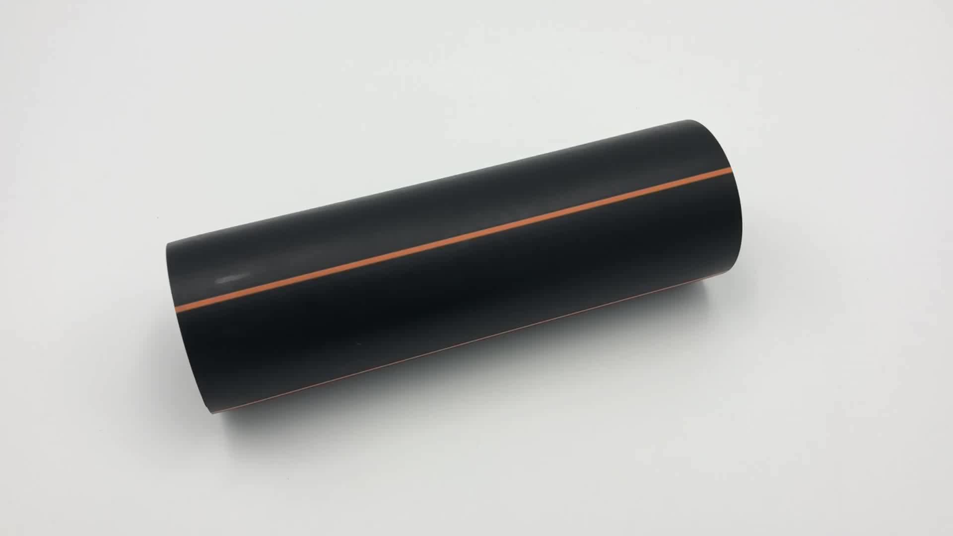 Tubo PEAD Sdr11 dn90mm preço da tubulação de gás natural da tubulação de polietileno