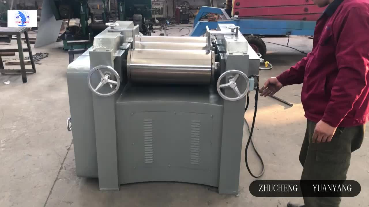 300-400 kg/hour Printing ink grinding machine Three Roll Mill price