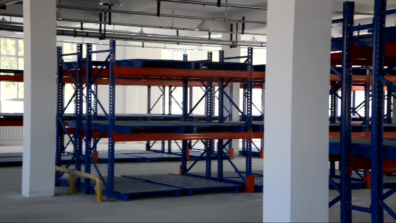 Stackable storage racking galvanized pallet shelving rack