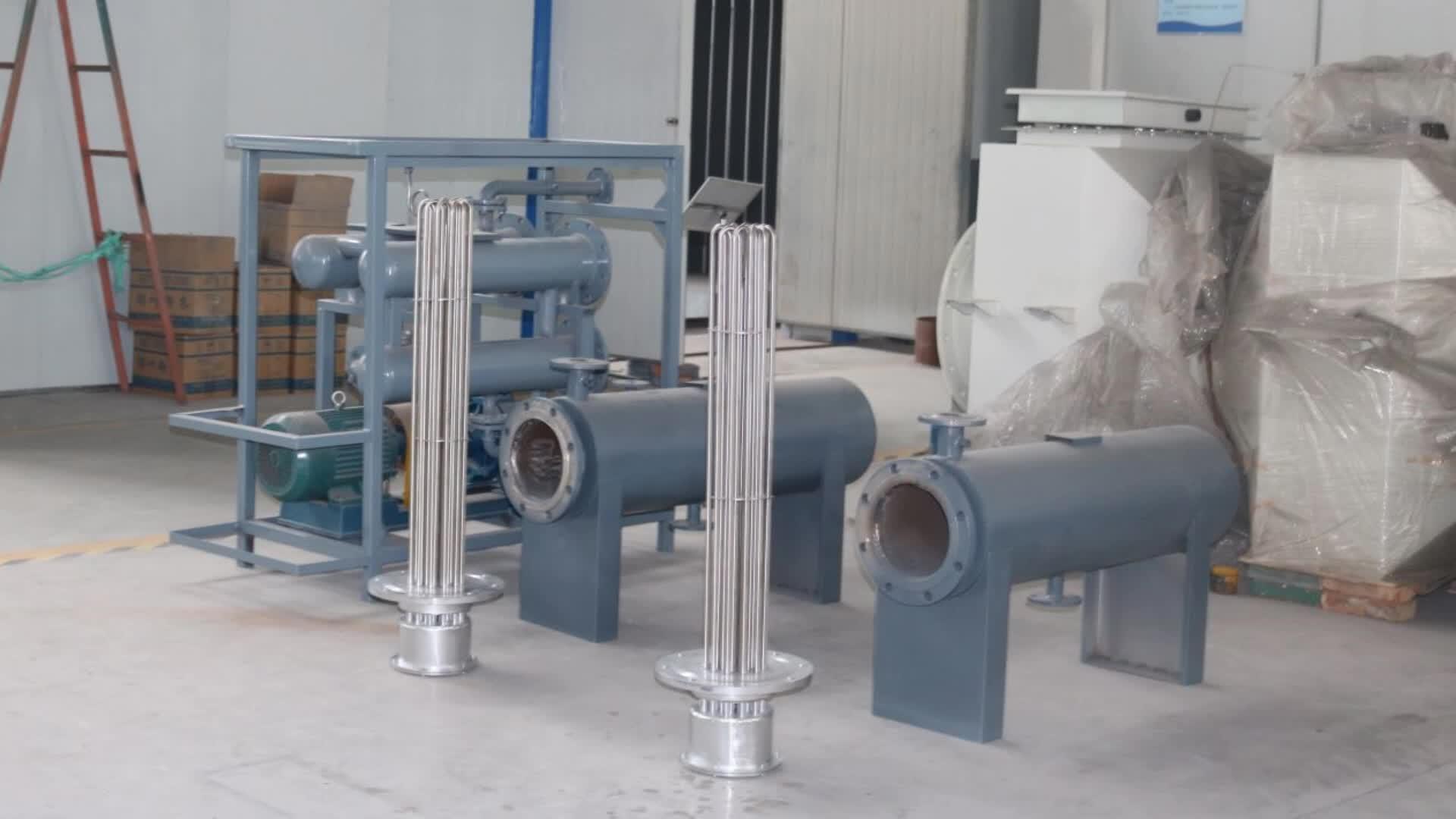 Aangepaste hoge temperatuur pijpleiding heater voor multiplex productie