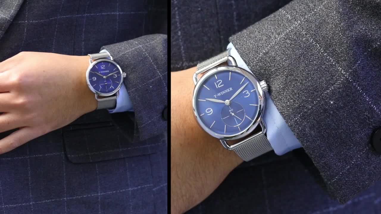 Mechanical Wristwatch 2020 Men Luxury Fashion stainless steel custom logo China factory wholesale watches