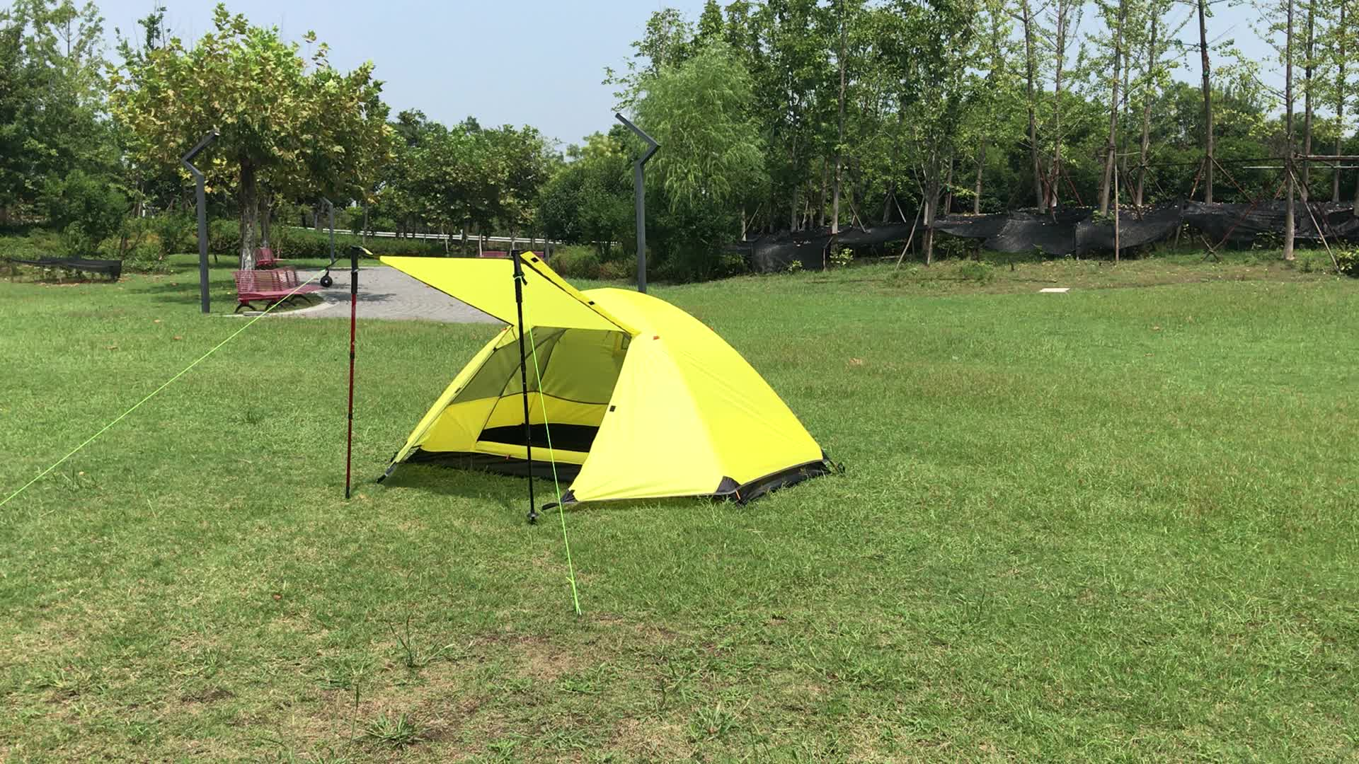Mountain Cattle Factory Hot Selling Camping Gear 1 Person ...