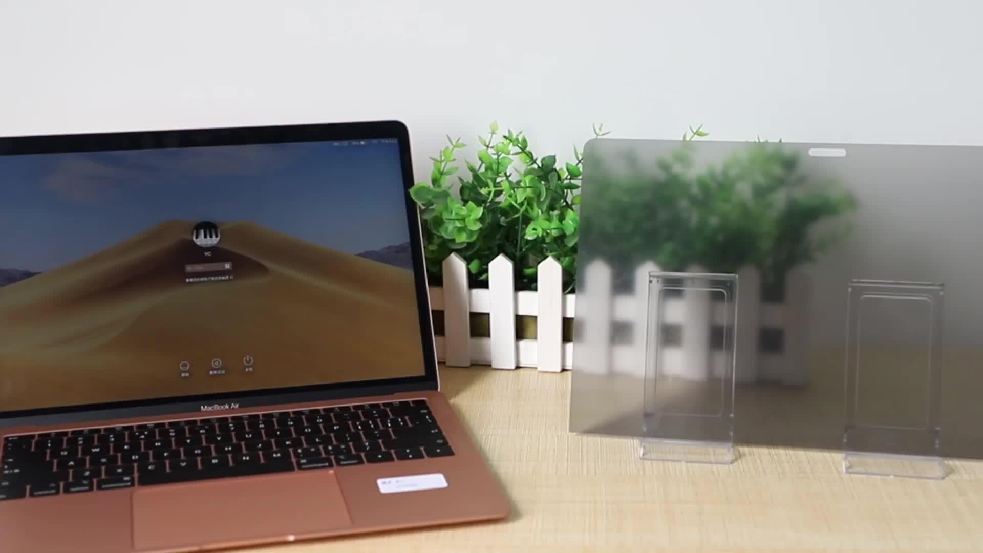 Fabrika Fiyat Anti-Spy Koruyucu Dizüstü Ekran Koruyucu ekran koruyucu Filtre 15 inç Dizüstü Bilgisayar için Gizlilik Filtresi (305mm * 228mm)