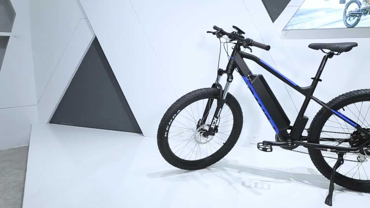 2020 China Wholesale high quality full suspension mid Motor electric bike electric bike  electric  bicycle  27.5  inch electric
