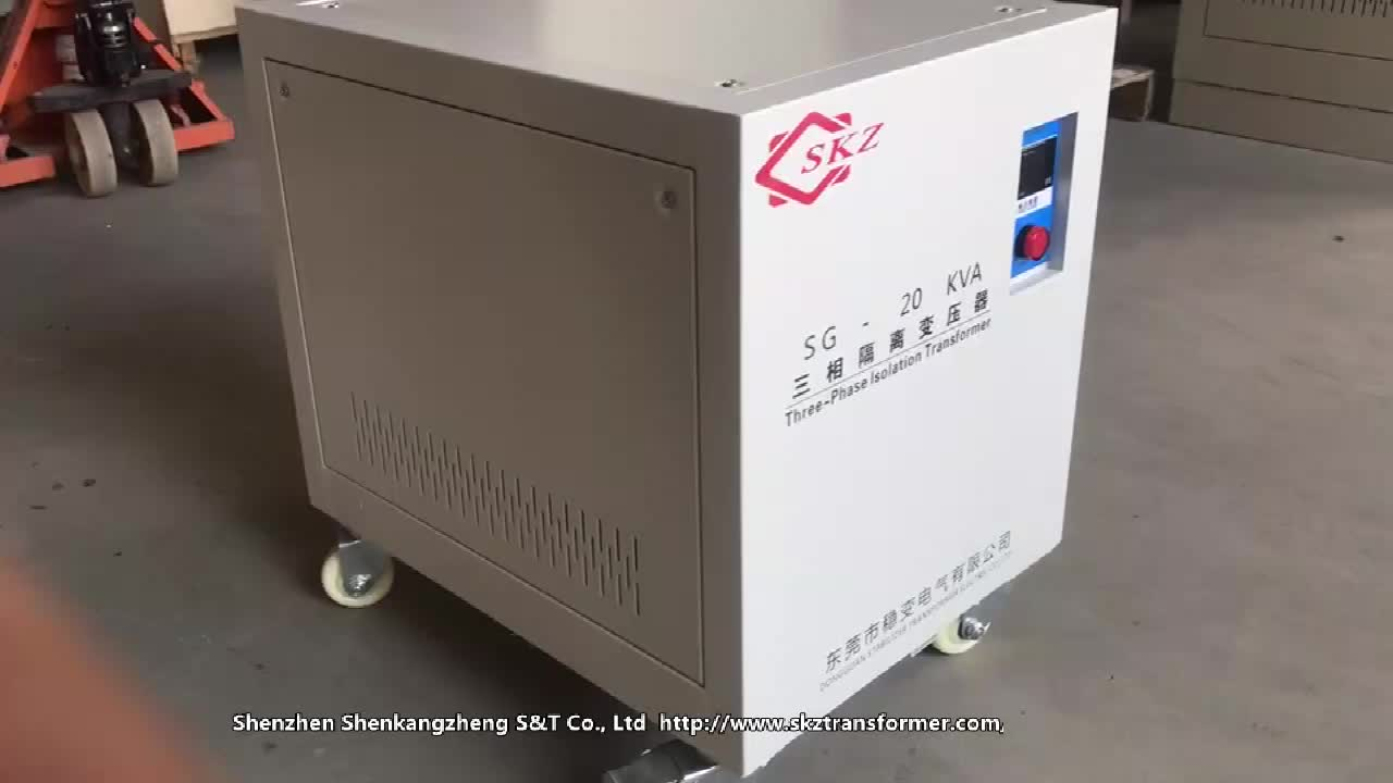Factory Direct Sale Three Windings 100KVA Transformer Price