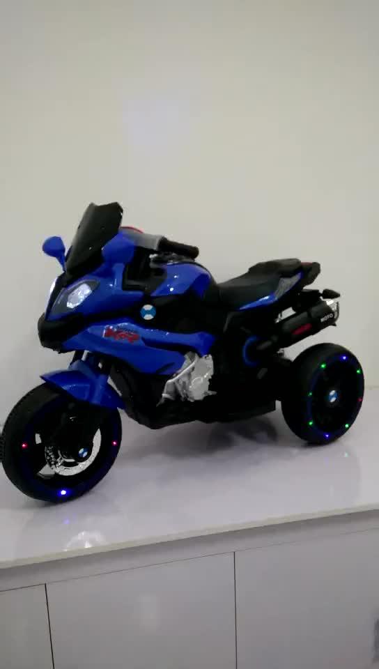 Крутой светильник, работающий от батареи, для езды на мотоцикле, мини-детский Электрический мотоцикл