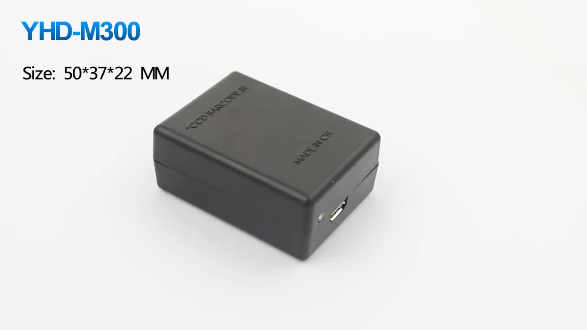 1D 2D QR Barcode Scanner Module Engine Embedded CCD Fixed Bar Code Reader Module for Kiosk RS232 USB Interface OEM ODM
