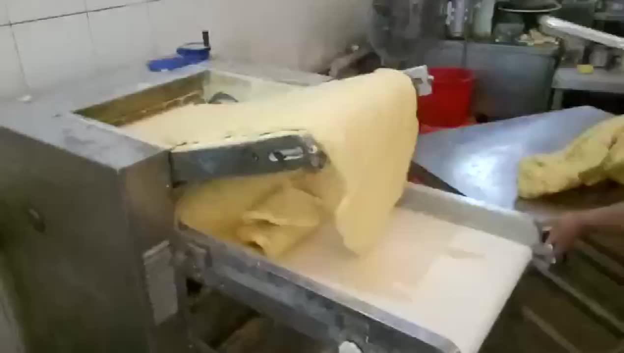自動調理機/テーブルトップ生地シーター/用のピザ生地ローラー販売調理機械