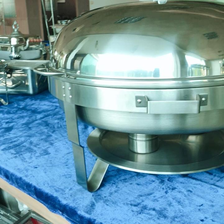 Hot Pot Buffet display Food Warmer Chafing Dish for Restaurant