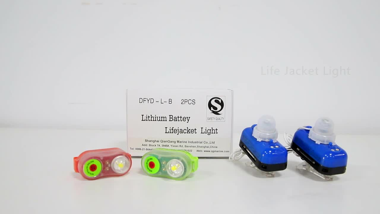SOLAS CCS/EC approved LED Lithium Battery Life Jacket Light