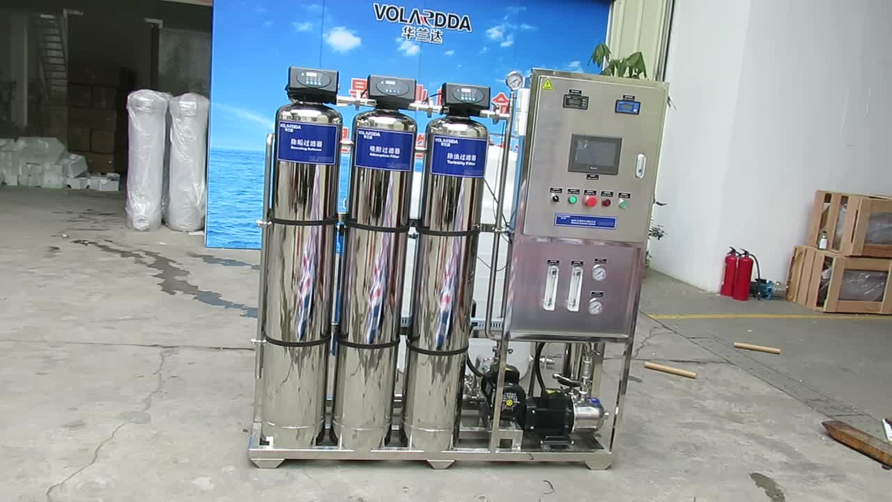 hot sell ro system 1000LPH Drinking mini mineral water plant sewage treatment equipment
