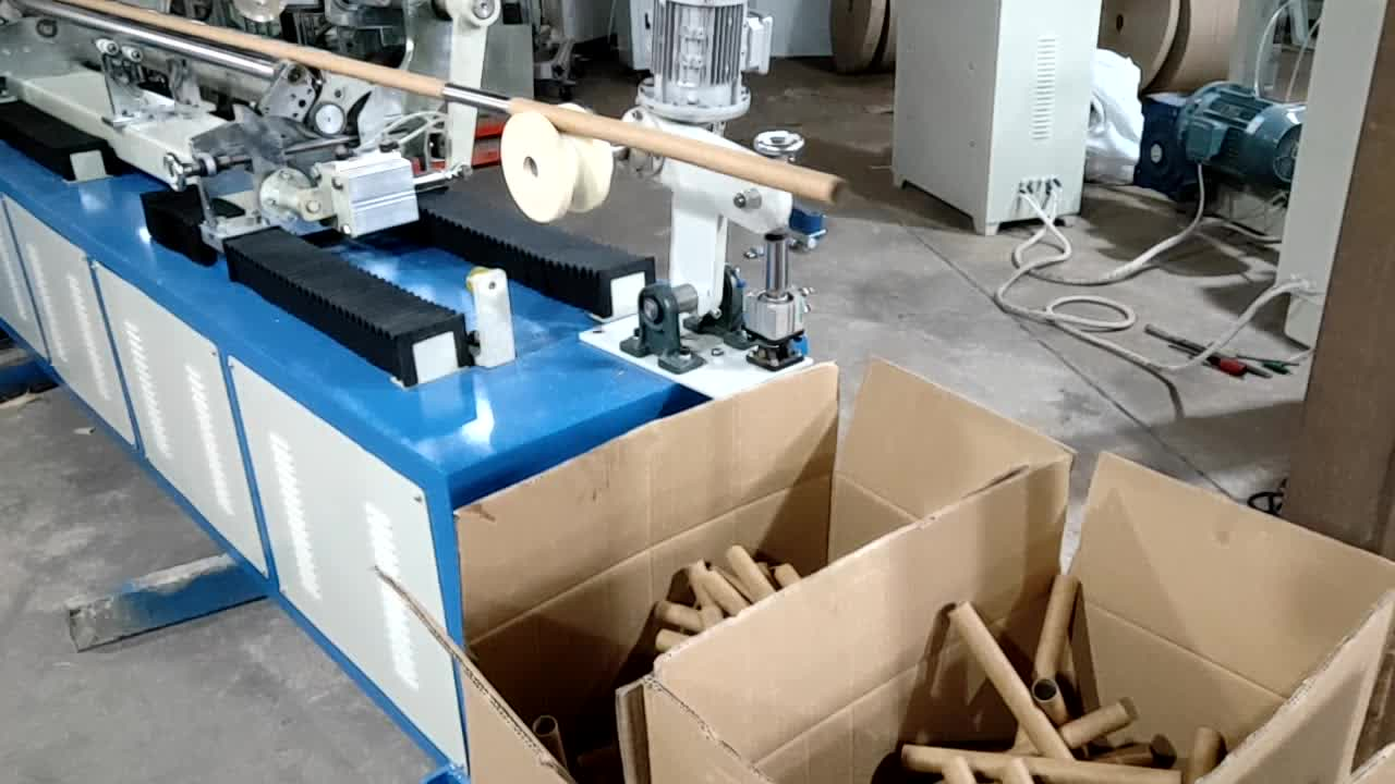 MC-960 fully automatic thermal paper tube core making machine