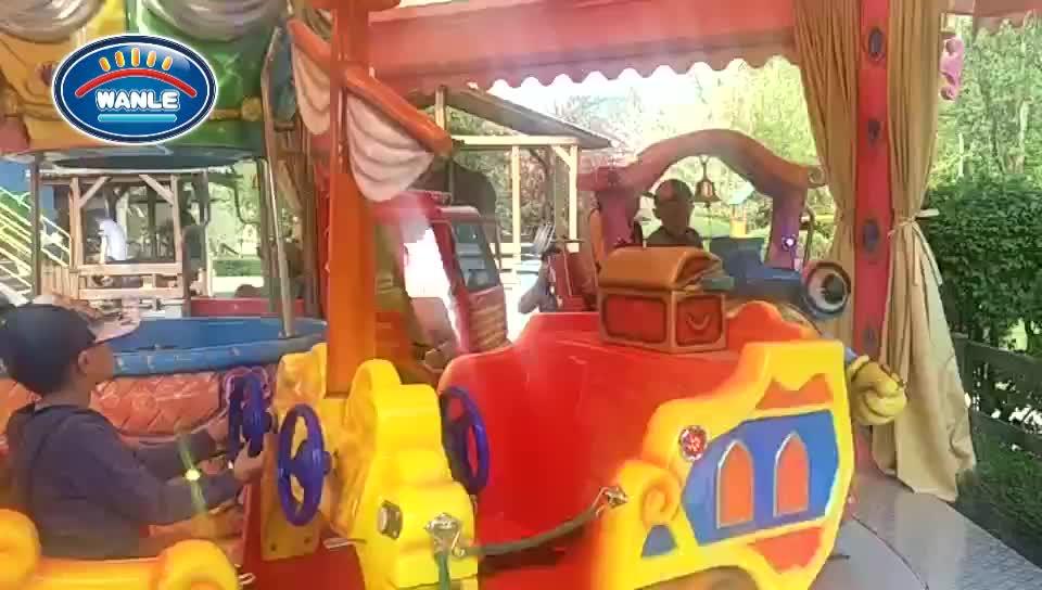 Spielplatz amusement luxus karussell maschine für verkauf