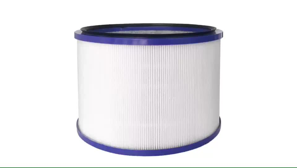 Cartridge H12 HEPA Filters Compatible with for Dysons DP01/Dp03/HP00/HP01/HP02/HP03 Air Purifier Replace Part # 967449-04