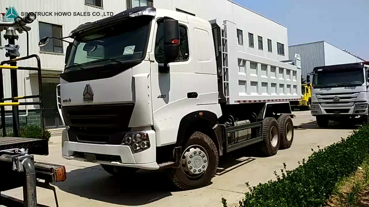 Sinotruk 6x4 10 Wheel Prime Mover Truck Howo Tractor Truck
