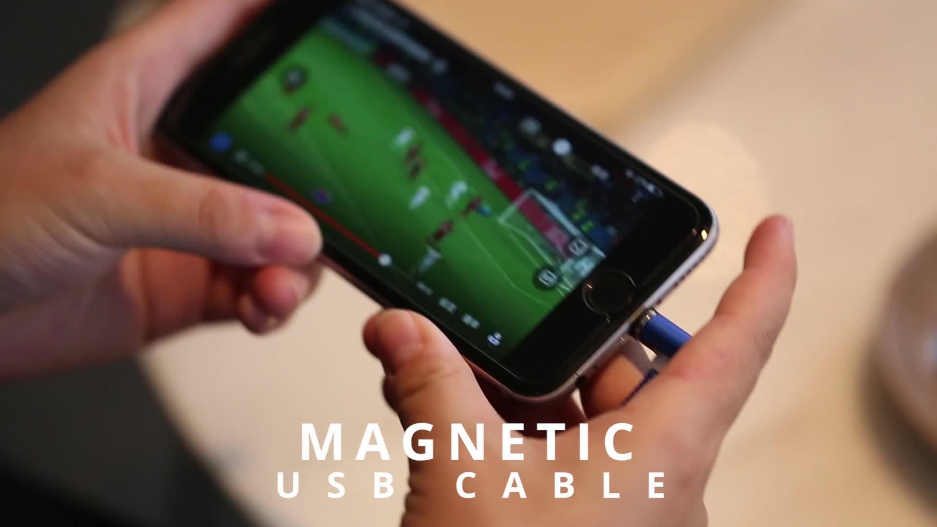 Frete Grátis RAXFLY L-TIPO Carga Magnética Cabo USB Ímã de Carregamento Micro USB Tipo C Cabo