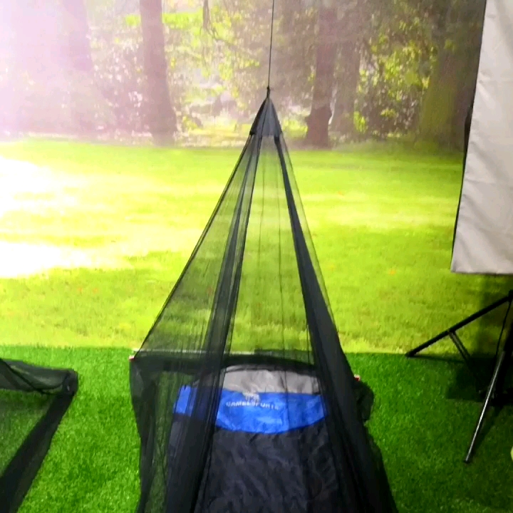 Camping home use folding hanging outdoor mosquito net