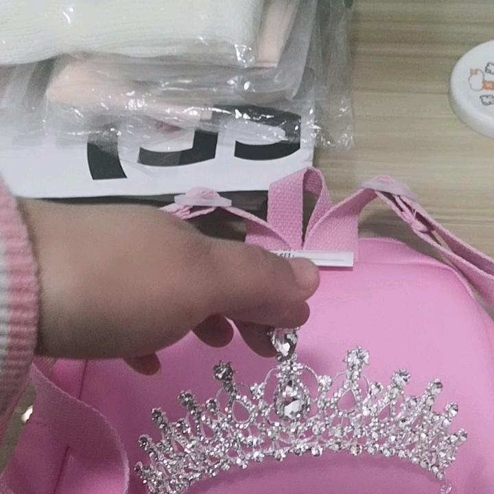 Grosir Baru Fashion Mewah Kristal Berlian Imitasi Mahkota Tiara Mahkota Pengantin untuk Wanita Aksesoris Rambut Pengantin