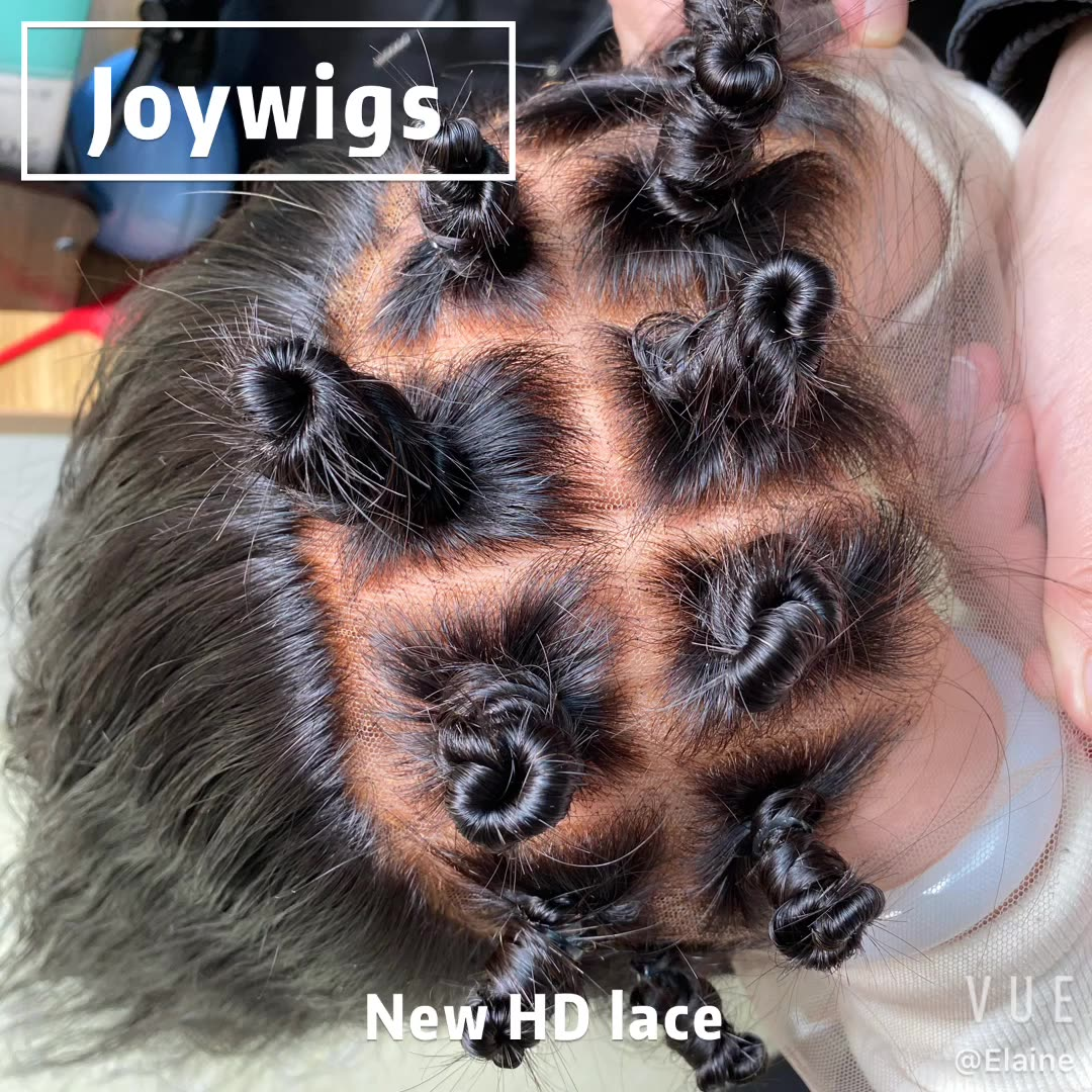JOYWIGS NEW INVISILACE WIGS RAW HUMANH HAIR 13 BY 4 WIG
