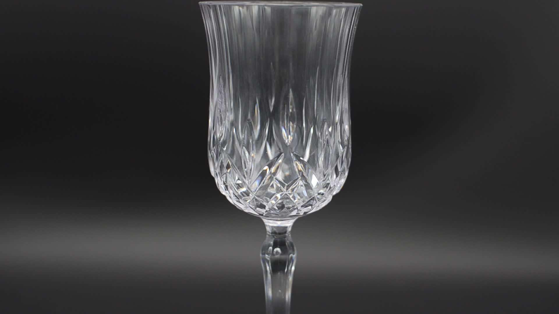 Unbreakable PC Plastic Wine Glass Cup Acrylic Goblet For Wedding