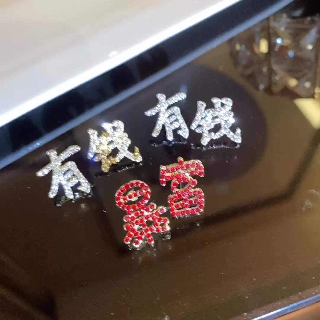 6pairs/lot hoop tassel jewelry sets earring