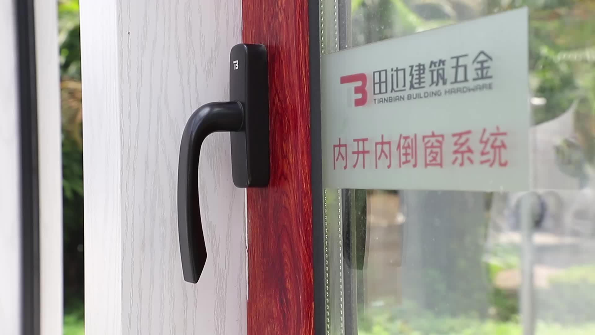 Paduan Seng Satu Titik Kunci Pegangan untuk Casement Window
