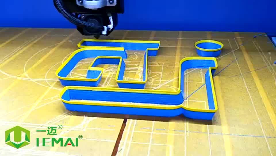 FDM goedkope hoge snelheid 3d printer IEMAI dongguan china ultimaker 3d printer voor licht lamp