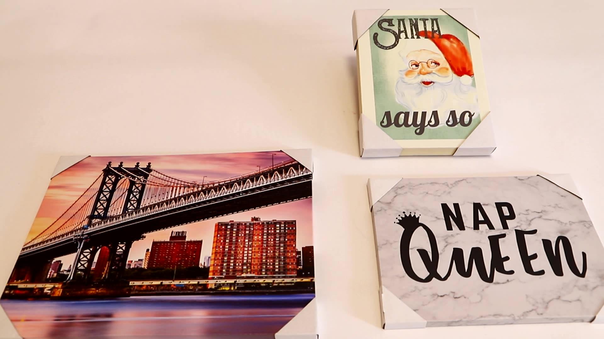 추상 페인트 현대 벽 예술 캔버스 회화 홈 장식