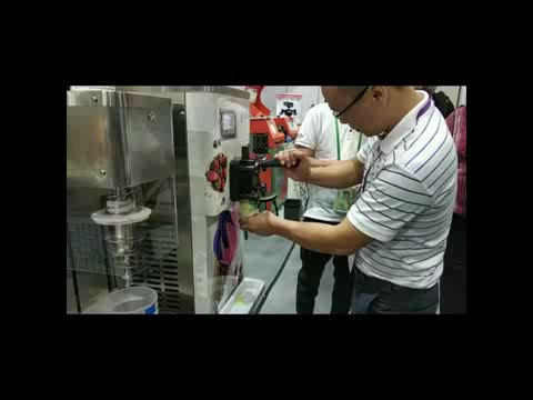 Free shipping Tabletop Grey Fruit Flavorama Ice Cream Blending Mixer Machine