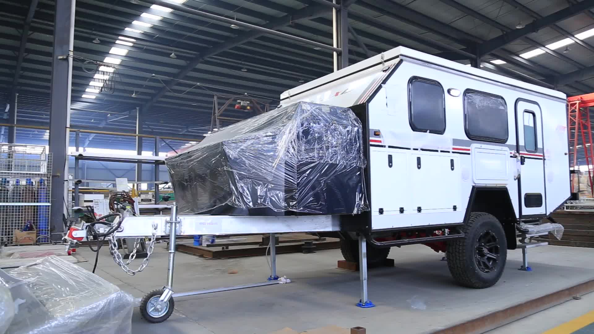 Allroad customized PVC reinforced pop tops caravan trailer camper RV caravan