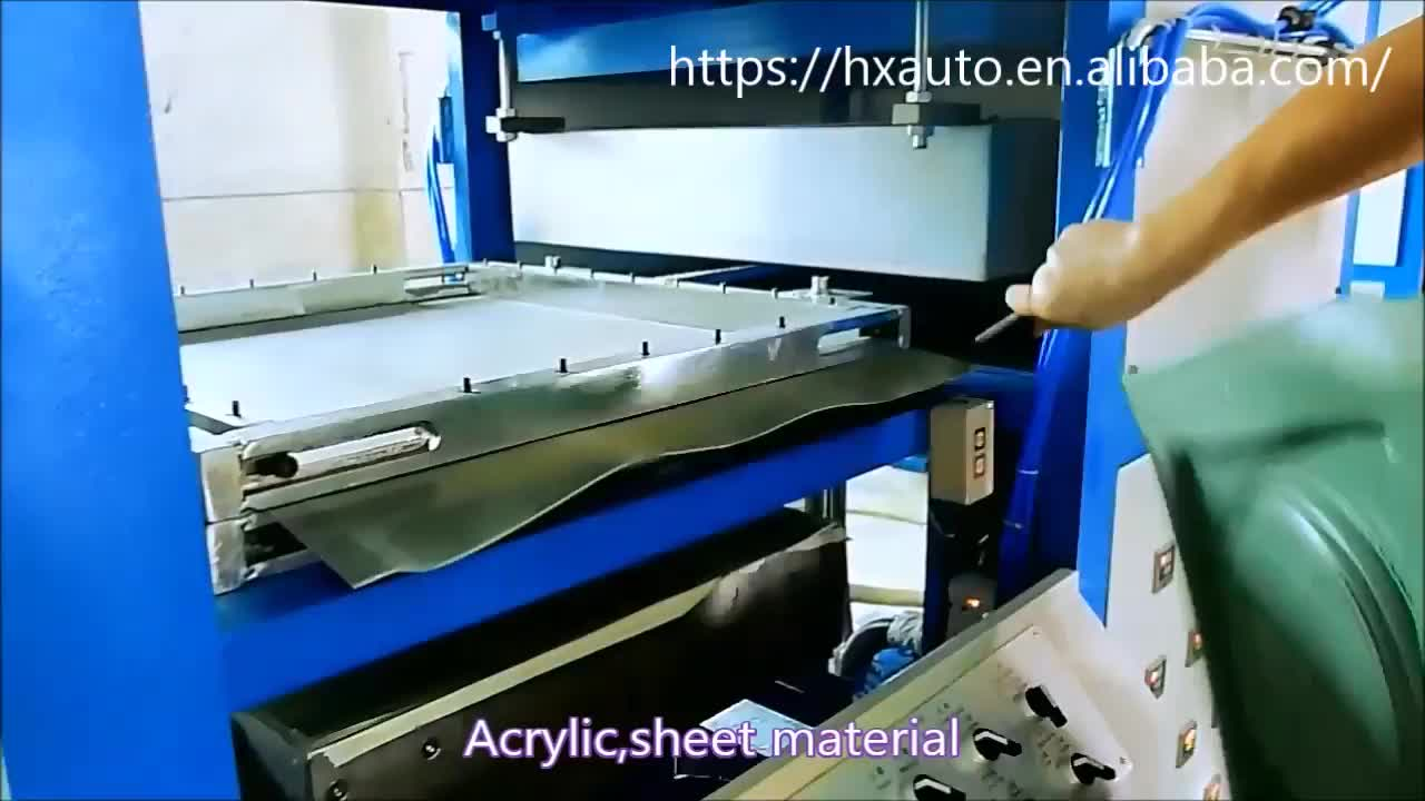 Low Cost Semi Automatic Vacuum Forming Machine for plastic tray
