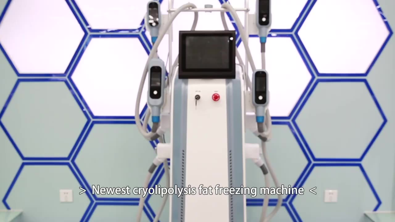 Low Price Iso Double Controlling Ir Vacuum Hottest 4 Handles Fat Freezing Cryo Cryolipolysis