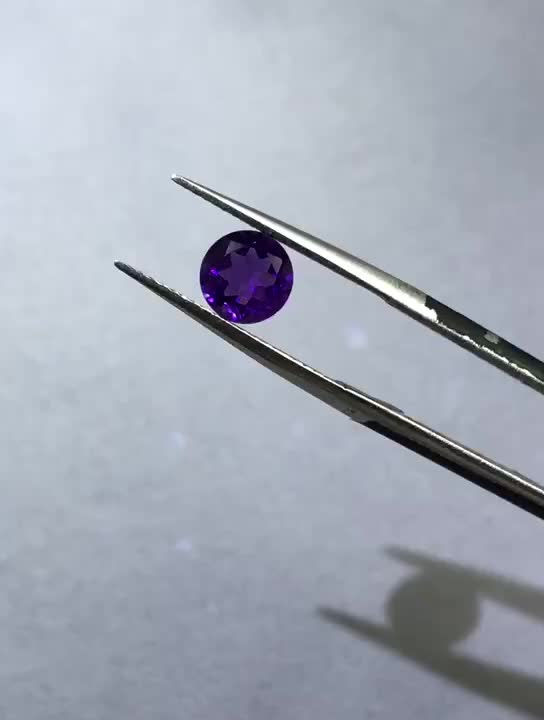 Top quality 6mm Natural Amethyst Geode
