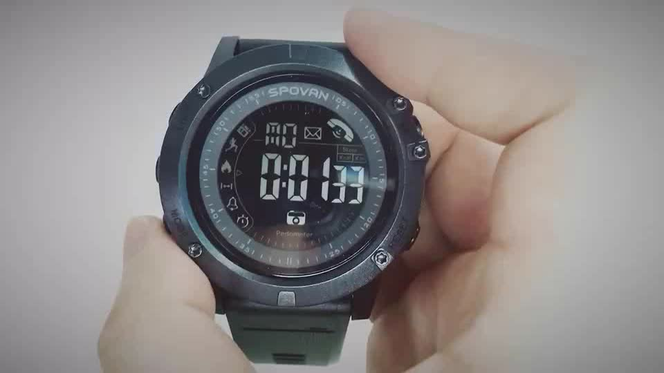 Hot Selling Multi-functional Men Smart Watch With Pedometer Call reminder