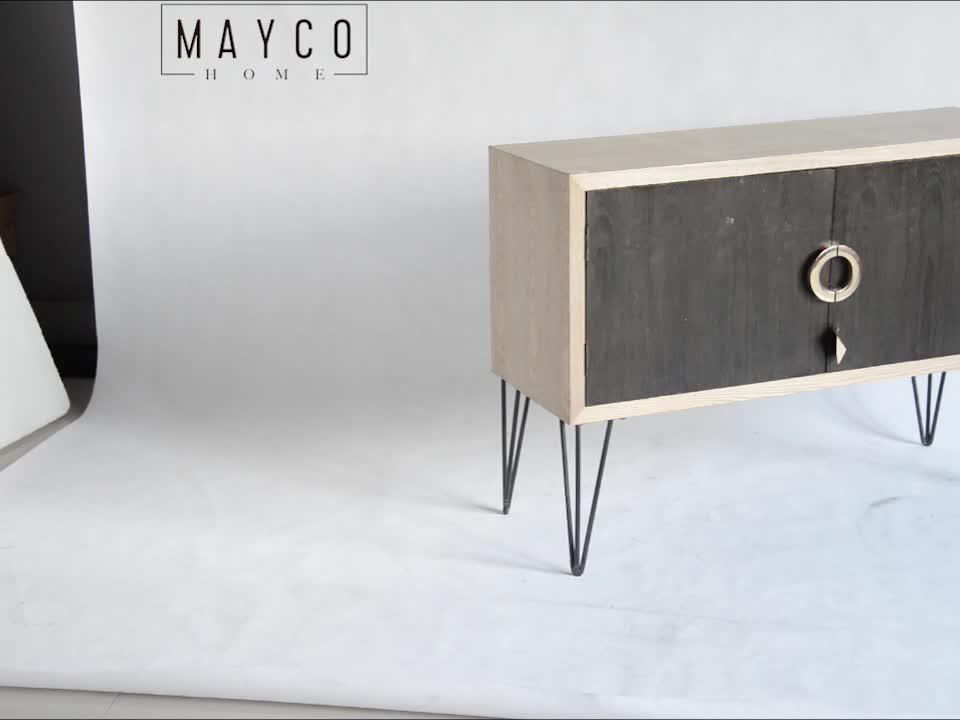 Mayco estilo moderno Lcd TV gabinete de diseño de Stand de uso para sala