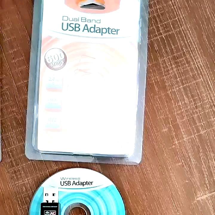 באיכות גבוהה 600mbps usb 2.0 wireless wifi מתאם עבור מחשב שולחני