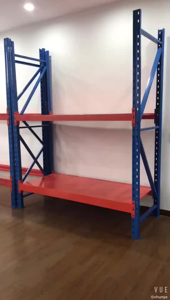 Factory direct aluminium steel warehouse storage rack