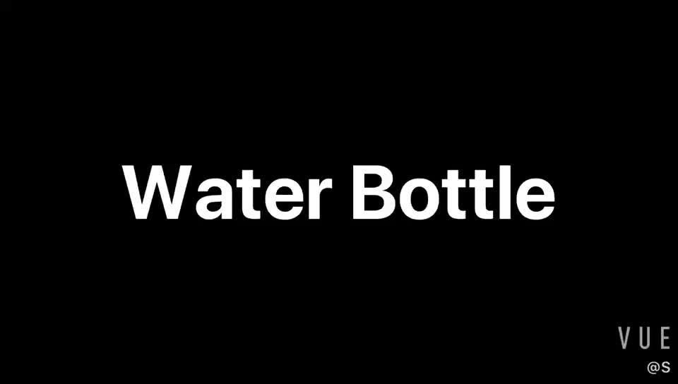 Logotipo personalizado esportes garrafa de água potável