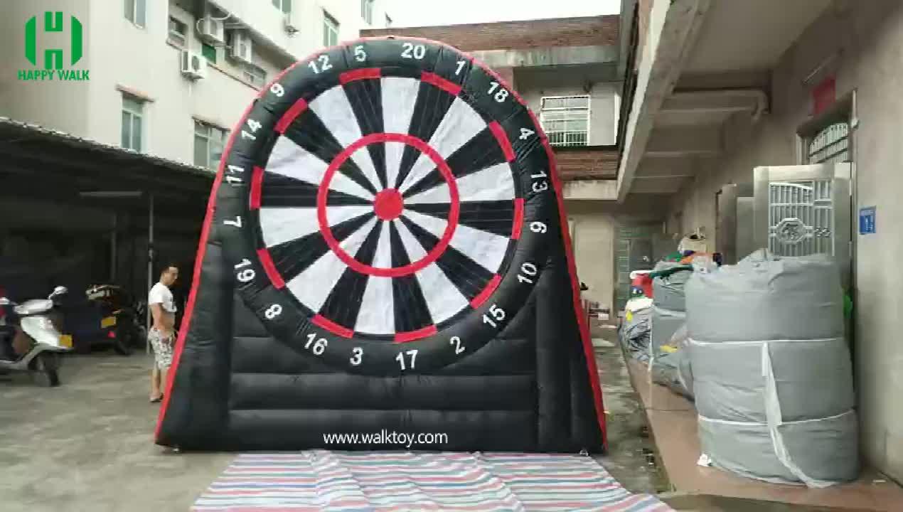 Personalizado 4Hm inflável bola de futebol esporte de tiro de dardo dardo inflável jogos