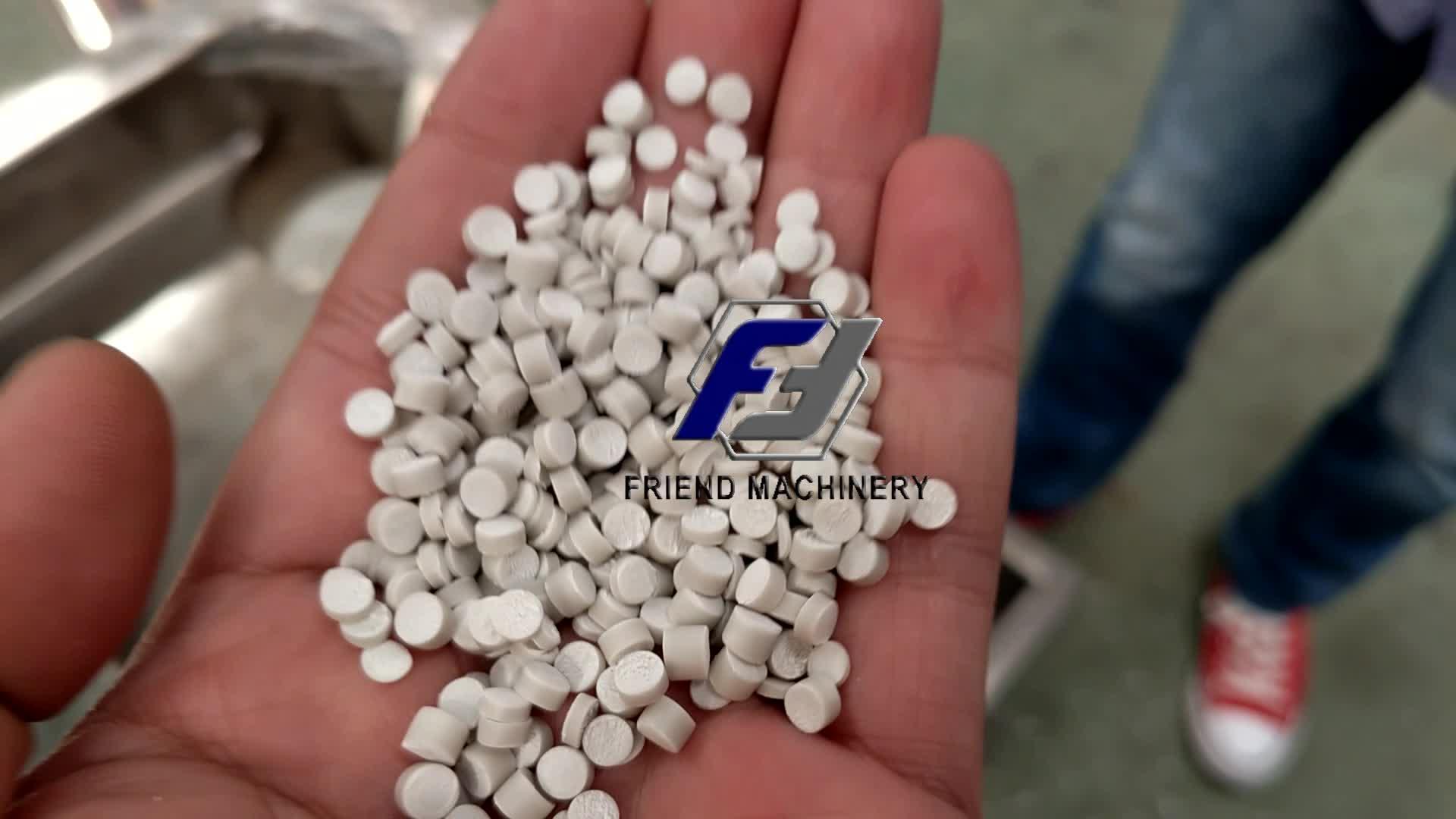 500kg PVC powder pelletizing pelletizer granulator granulating machine PVC pellet granule making machine