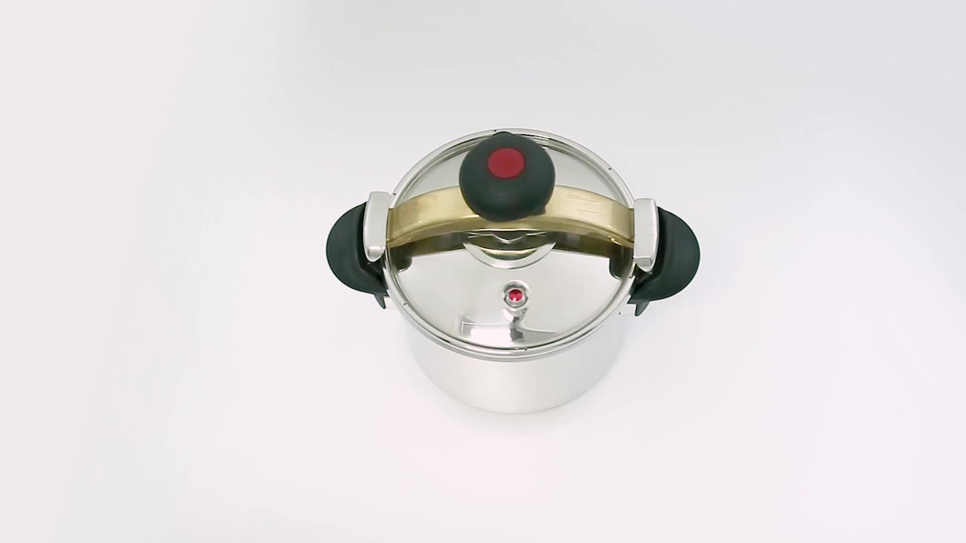 Высокое качество газовая плита кухонная посуда 304 нержавеющая сталь скороварка
