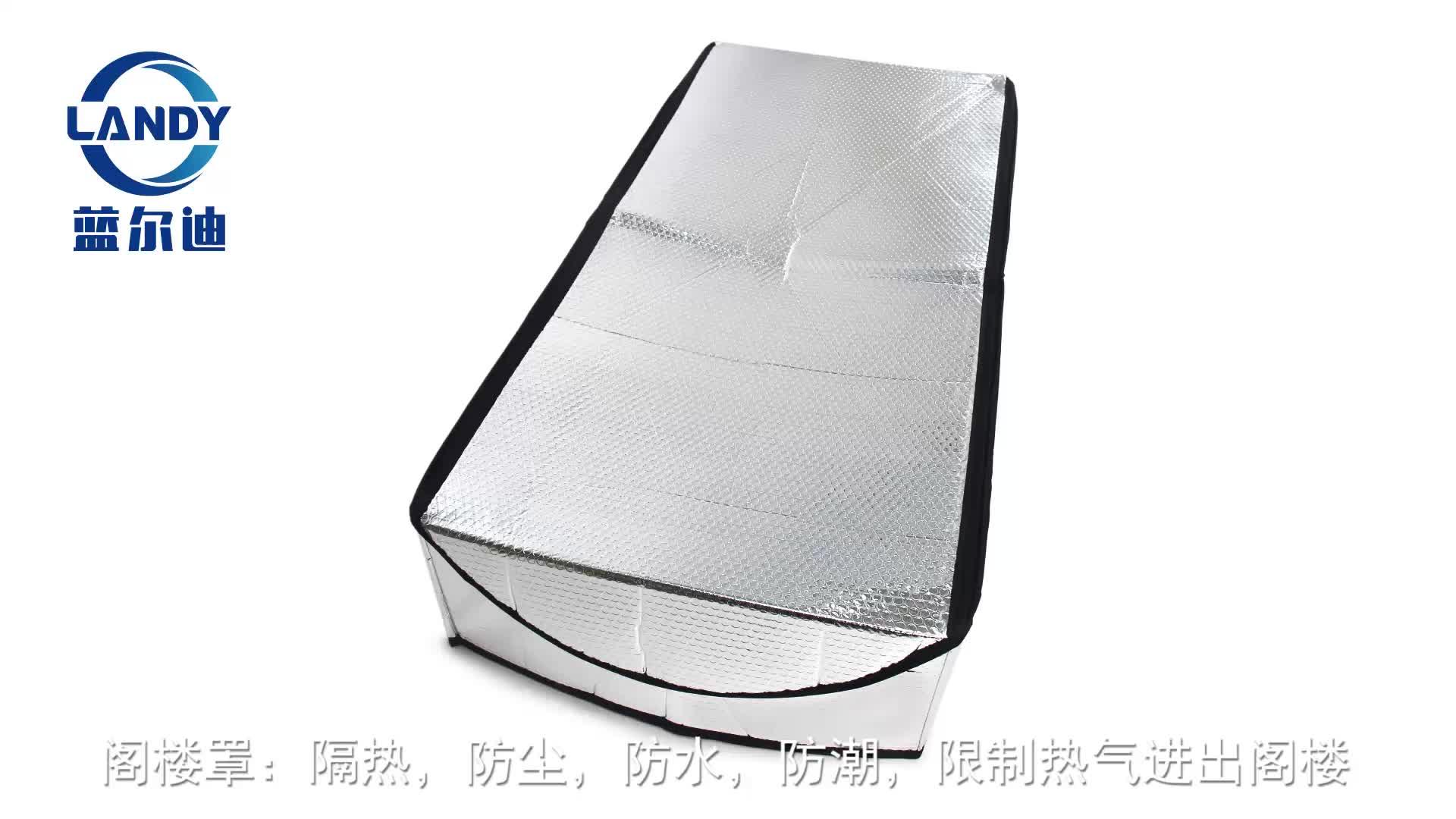 aluminum foil attic insulation material cover tent,attic stairway insulation