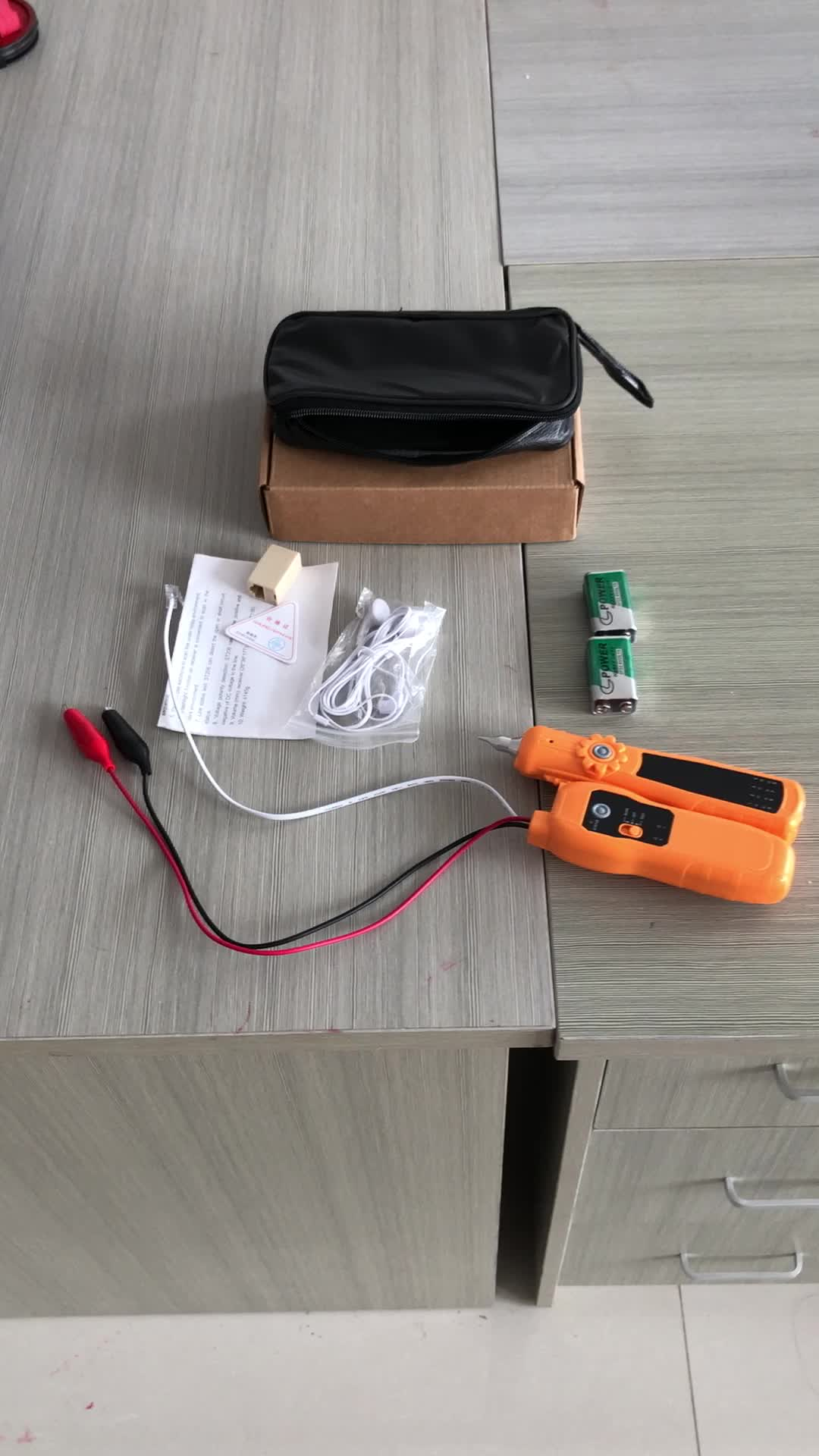 St206 Cable Wire Line Phone Telephone Network Toner Tester Generator ...