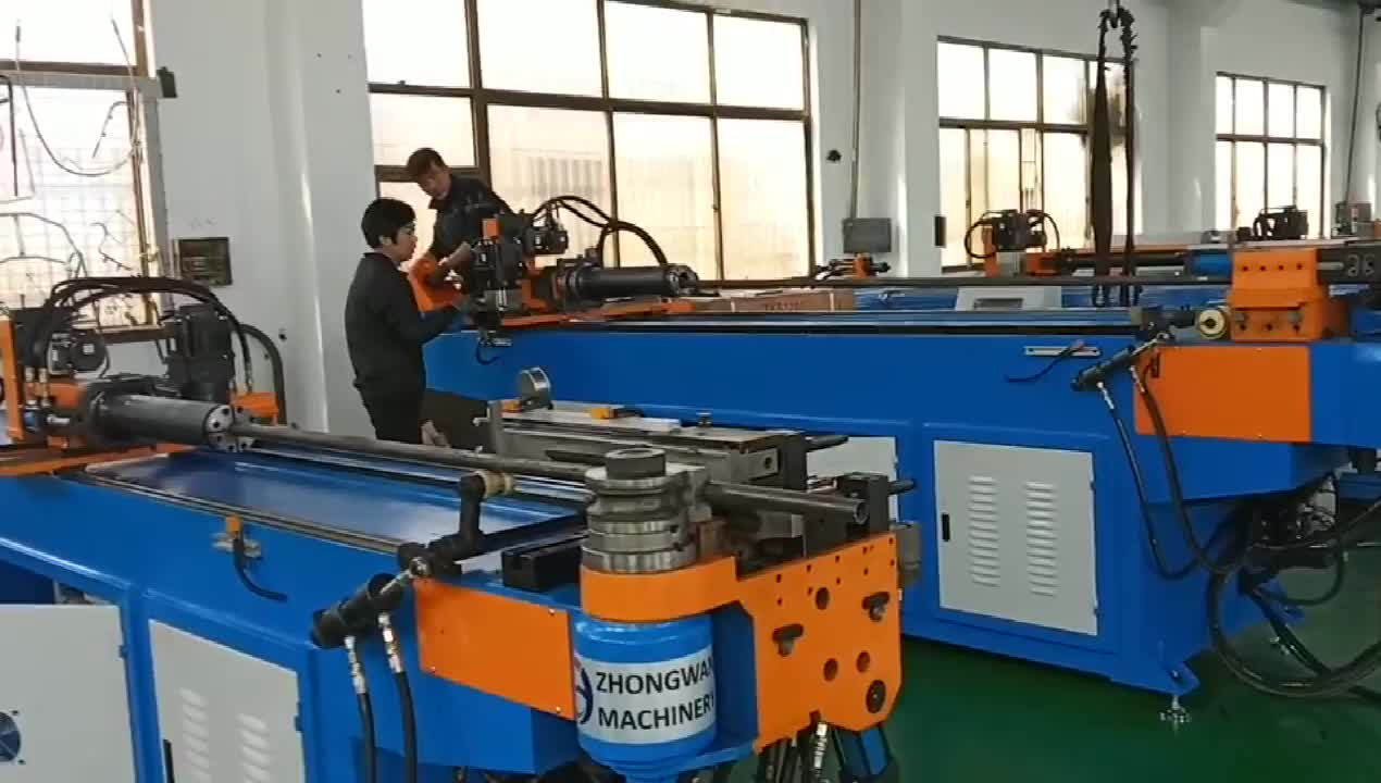 Automation oval multi function 50mm metal with mandril mandrel tube pipe bender machine