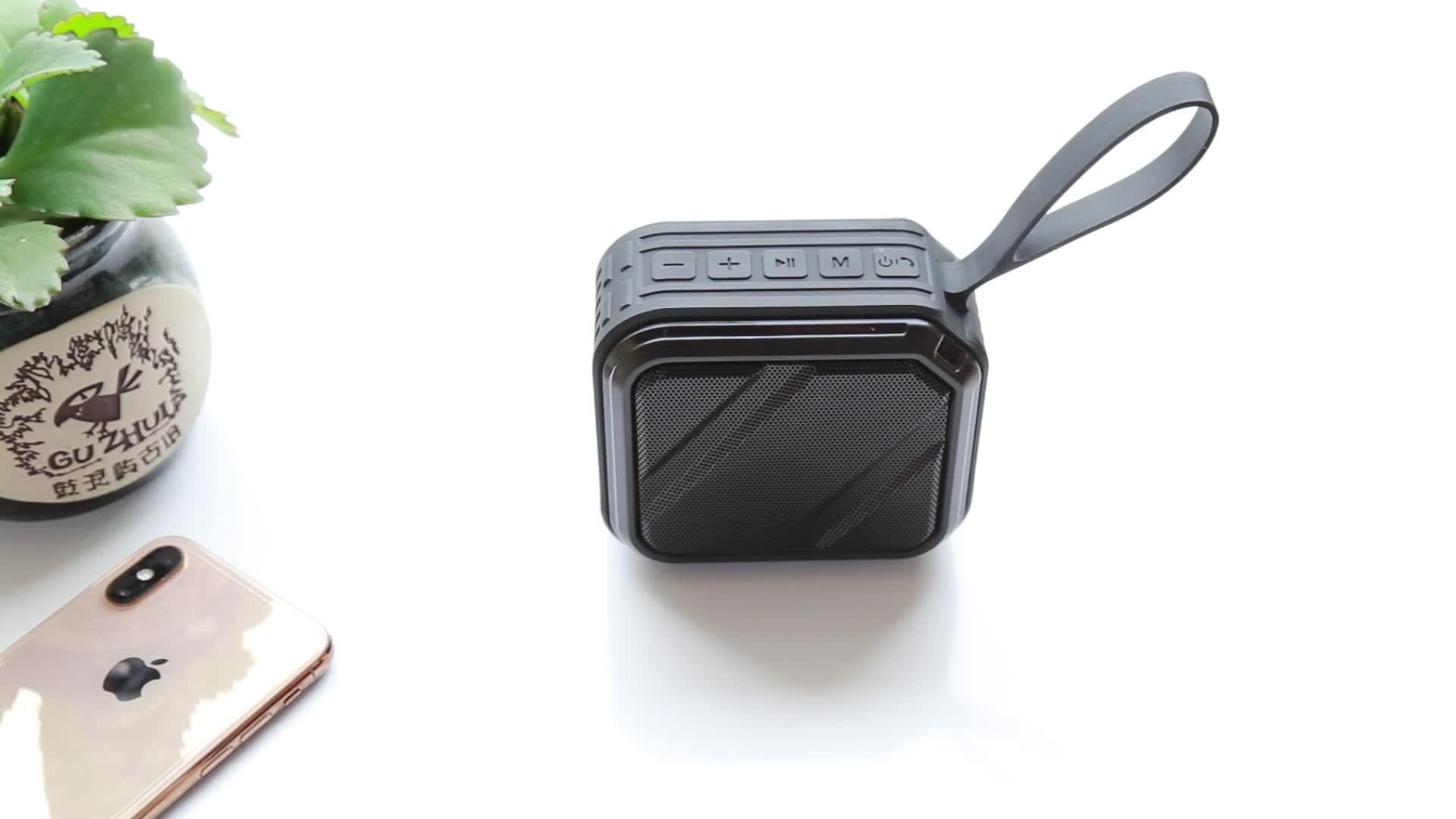 BS31D su geçirmez IPX7 kablosuz bluetooth hoparlör süper ses çok fonksiyonlu kaliteli taşınabilir kablosuz hoparlör