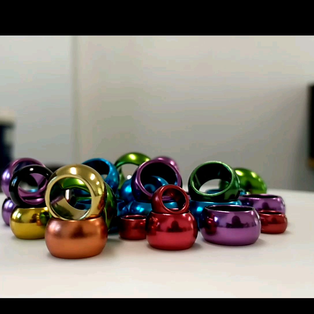 YZ fabrik produziert distinctive GOLD oval private ringe papagei ringe taube ringe