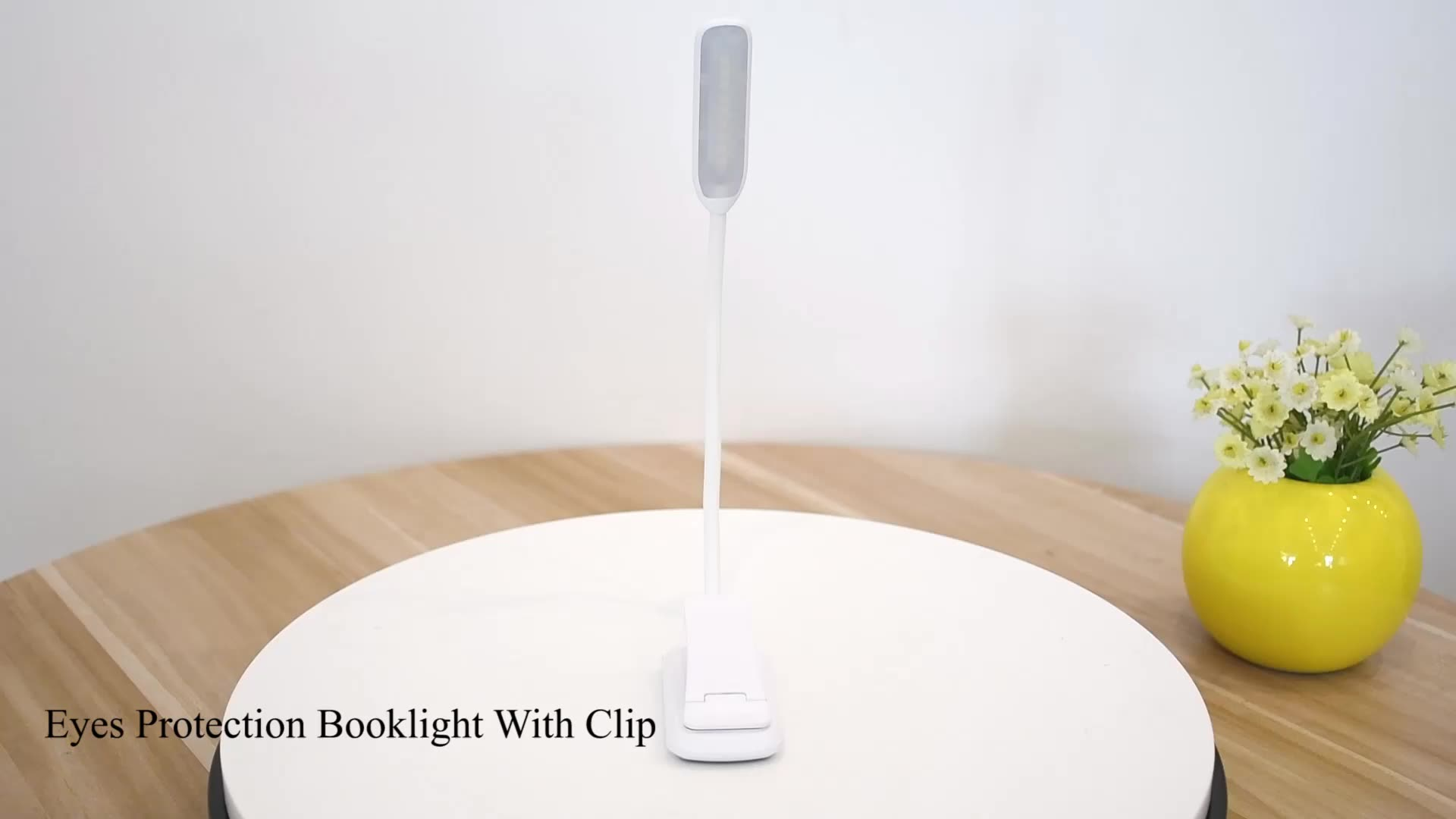 Оптовая продажа дешевые Диммируемые гусиная шея гибкие клип на книги светодиодные лампы для чтения, Дети Клип USB перезаряжаемые Складные светодиодные книги свет