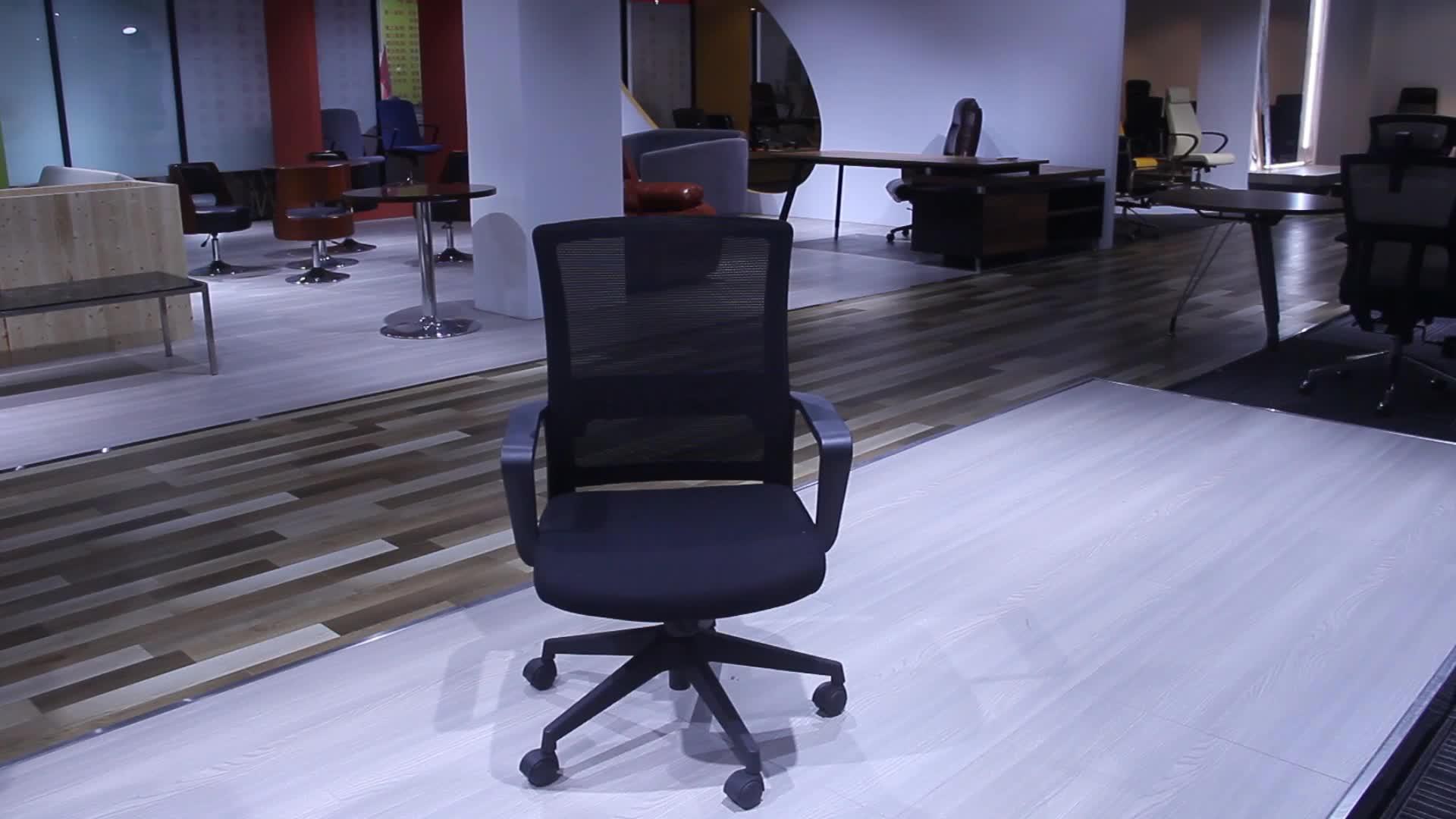 Hohe Qualität Mesh Stuhl Sitzungssaal Mesh Stuhl Günstige Einfache swivel Mesh Stuhl