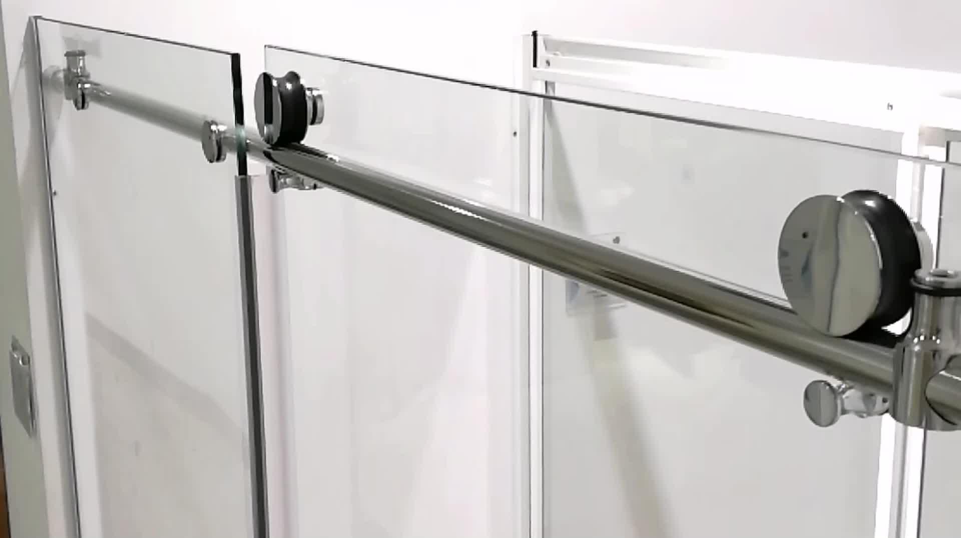 High Quality Popular commercial interior sliding glass barn door