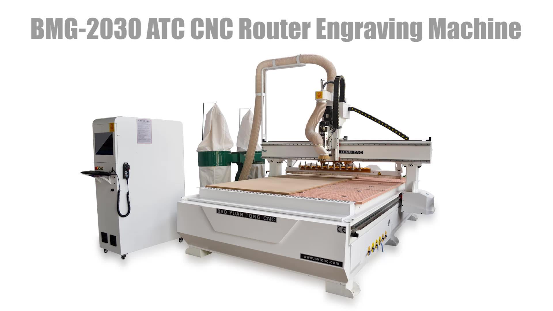 Cambio utensile automatico prezzo di fabbrica di legno MDF Acrilico lavorazione del legno incisore di taglio del router di CNC per 3D porta dell'armadio segni